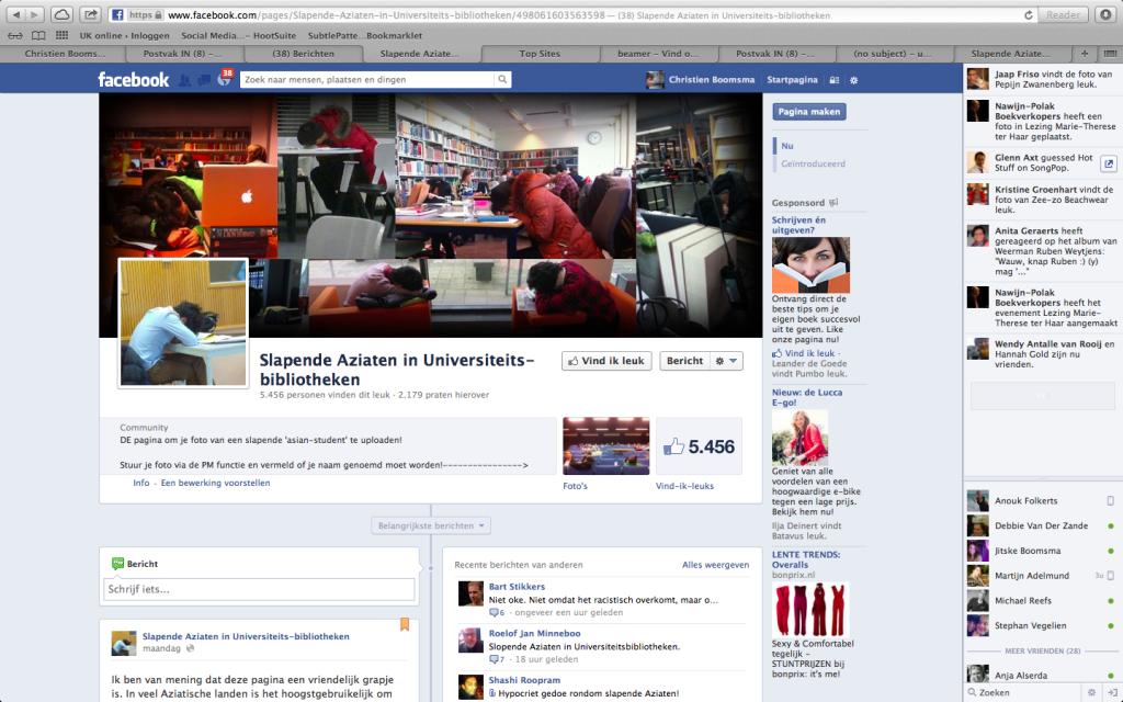 Schermafbeelding Facebook