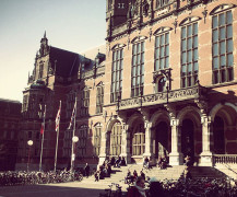 Het Academiegebouw van de RUG