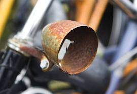 verroeste koplamp fiets