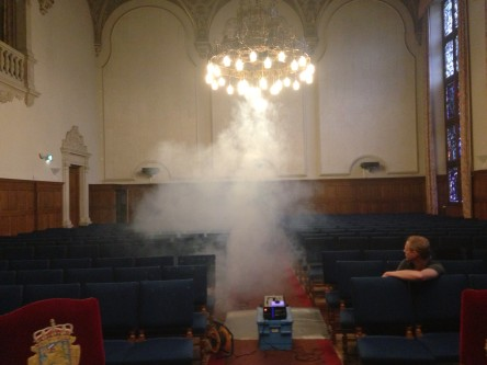 1111 Aula rookproeven foto