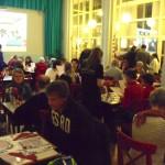 De eetzaal van Happietaria in de Folkingestraat