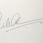 WilAL, koninklijke handtekening.
