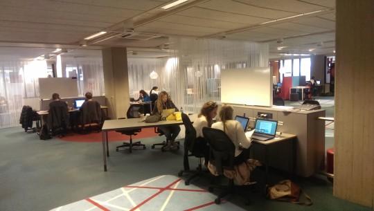 Learning grid UB studieplekke