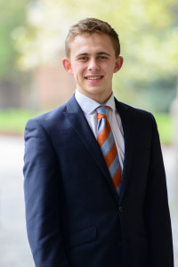 Jonah Thompson, member of the SOG faction in the University Council 2015-2016.