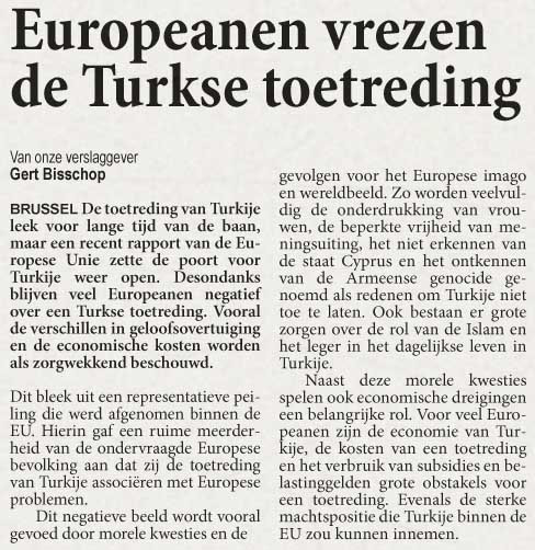 Clip - Europeans fear Turkish entry